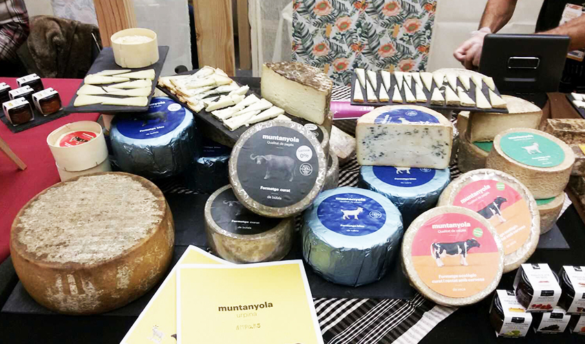 Quesos Muntanyola, en el International Cheese Festival de San Sebastián